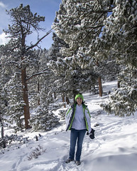 Hot (noname_clark) Tags: rockymountainnationalpark outdoor hike snow lillymountain katherine