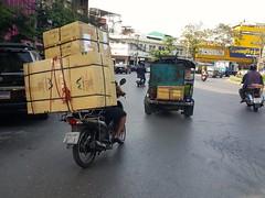 Bangkok transport (Gerard Koopman) Tags: bangkok thailand trafic