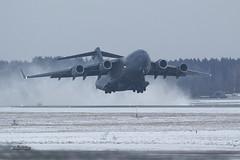 A56A0056@L6 (Logan-26) Tags: boeing c17a globemaster iii 077171 msn f182p171 usa air force snow riga international rix evra latvia military airport aleksandrs čubikins winter