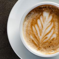 Caffè macchiato (Inka56) Tags: brew macromondays caffèmacchiato coffee cup foam milk milkfoam teksture