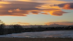 January 4, 2019 - Stunning lenticular clouds at sunset. (David Canfield)