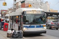 IMG_2764 (GojiMet86) Tags: mta nyc new york city bus buses 2015 xd40 7270 subway shuttle metropolitan graham avenue