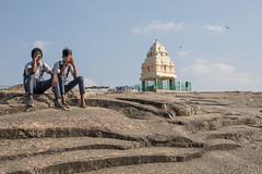 On Top of the Hill, Bangalore (Geraint Rowland Photography) Tags: shrine hindu religion rock moonscape candid india bangalore banglore bengaluru lalbaghparkinbengaluru streetphotography visitindia portraits wwwgeraintrowlandcouk geraintrowlandphotography canon sitting boys youth youngmen