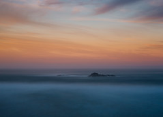No Star In Sight (John Westrock) Tags: seascape longexposure sunset oregon oregoncoast pacificnorthwest canoneos5dmarkiii ocean nature canonef2470mmf28lusm smooth sky clouds horizon minimalism minimal