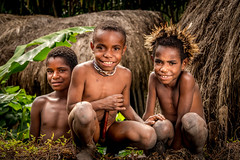 Best Friend (tehhanlin) Tags: people faces portraits local tribe sukudani danitribe indonesia travel sony ngc isolated visitindonesia places kids children friend papua wamena asia nusantara