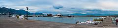 Panorama Itea (PanosKa) Tags: canoneos5d samyang85mmf14 landscape seascape port sea