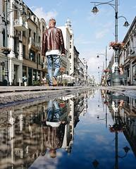 Łódź - Poland (Sanne Aabjerg) Tags: lodz poland centraleurope travel łódź reflection