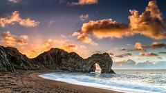 Durdle Door Sunrise (petebristo) Tags: dorset druildedoor seascape