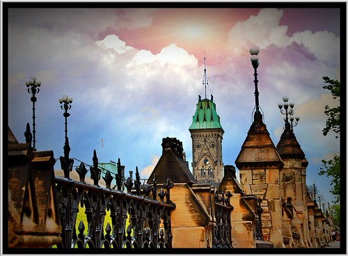 Ottawa Ontario Canada ~ Parliament Hill and Buildings ~ Historical Site