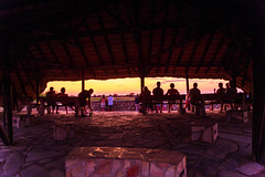 DSC00419 (philliphalper) Tags: namutoni etosha namibia elephant sunset