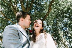 a&t wedding in wiesbaden (Yuliya Bahr) Tags: tree green wedding bride groom laugh smile happy happiness girl woman portrait