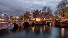Amsterdam Canals (arnaud.porterie) Tags: amsterdam canals leidsegracht keizersgracht