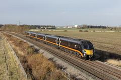 20181110_IMG_0202 (PowerPhoto.co.uk) Tags: grandcentral gc class180 adelante dieselmultipleunit dmu 180105 kirkbylathorpe sleaford 1a63 train railway
