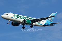 Frontier Airlines Airbus A320-251N - N341FR (AeroPX) Tags: aeropx airbusa320 airbusa320neo caryliao ewing franthesealion frontierairlines kttn n341fr nj newjersey ttn trentonmercercountyairport httpaeropxcom httpcaryliaocom