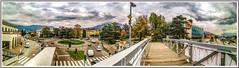 Footbridge (Immagini 2&3D) Tags: rovereto italy trentino hdr panorama landscape
