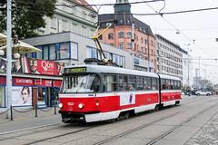 BRN_1023_201811 (Tram Photos) Tags: ckd tatra k2p brno brünn strasenbahn tram tramway tramvaj tramwaj mhd šalina dopravnípodnikměstabrna dpmb