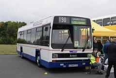 WMT 1266 @ Showbus 2018 - Donington Park (ianjpoole) Tags: preserved west midlands travel leyland lynx g266eog 1266 donington park for showbus