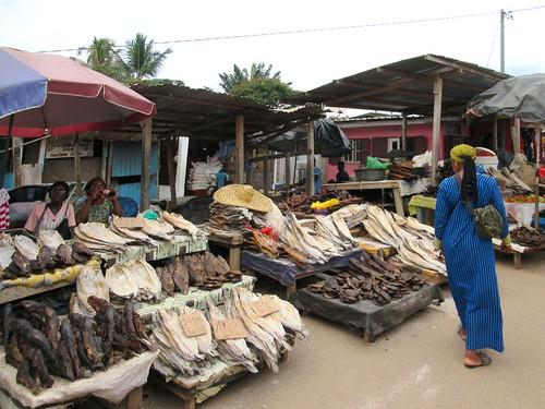 Quartier Issac Fish Market