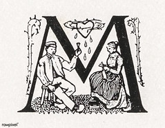 Woodcut monograms by Julie de Graag (1877-1924). Original from The Rijksmuseum. Digitally enhanced by rawpixel. (Free Public Domain Illustrations by rawpixel) Tags: antique art artwork character couple drawing handdrawn heart illustrated illustration illustrator juliedegraag letter monograms old pdrijks publicdomain rijksmuseum sketch vintage woodcut