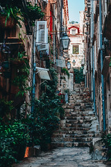 Old Town Alley 1 (dogslobber) Tags: yellow dubrovnik croatia old town travel explore adventure wander wanderlust alley alleys