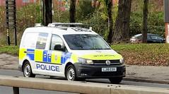 British Transport Police VW Caddy Dog Unit LJ18 EXH (sab89) Tags: british transport police vw caddy dog unit lj18 exh