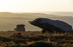Gritstone Tors (l4ts) Tags: landscape derbyshire peakdistrict darkpeak gritstone overowlertor mothercap gritstonetors heather moorland goldenhour sunrise