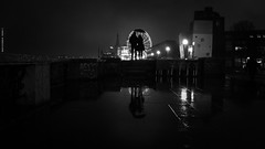 Together you're not alone (Hendrik Lohmann) Tags: streetphotography street urban urbanart rain rainynights umbrella nikon nikondf nightshot nightlife nikonphotographer night people blackandwhite bnw bw wheelofvision düsseldorf duesseldorf absoluteblackandwhite