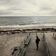 catwalk (liebeslakritze) Tags: catwalk beach strolling balticsea ostsee strand spaziergang posen