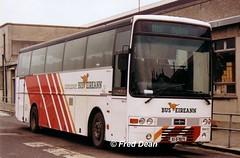 Bus Eireann DVH13 (93D19275). (Fred Dean Jnr) Tags: july2003 dublin broadstone broadstonedepotdublin buseireannbroadstonedepot buseireann dvh13 93d19275 daf mb230 vanhool alizee