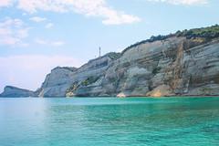 Felsen beim Kap Drastis (marlon.freiberger) Tags: felsen gestein korfu landschaft meer natur ozean urlaub afionas bergdorf arillas beach strand