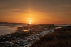 Hilbre Island Winter Sunrise (Rob Pitt) Tags: hilbre island winter sunrise 70200 f4 l canon sony wirral west kirby
