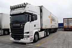 DSC_0018 (richellis1978) Tags: truck lorry haulage transport logistics cannock scania r r580 v8 rjm commercials kx17rjy