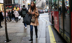 `2506 (roll the dice) Tags: london westminster westend w1 lights christmas cold streetphotography pretty sexy girls oxfordstreet portrait strangers candid natural wisdom shops shopping people makeup fashion colour crowd busy mad sad fun funny bored happy reaction urban unaware unknown england classic uk art smile canon tourism tourists shock sale bargain magic brave boots pvc bus roundel danger eyes taxi amazing dirty