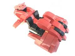 Red Revenant Front Right (dreki.bryni) Tags: halo moc afol lego