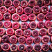 Pomegranate in Tel Aviv's Carmel Market. Israel