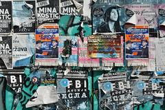 Wall, Novi Sad (Thomas Roland) Tags: poster posters plakat plakater wall pink cyrillic letters bogstaver novi sad нови сад vojvodina tourist holiday summer sommer ferie 2018 nikon d7000 europa europe serbia serbien republika srbija република србија travel rejse trip city by river flod danube donau