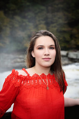 3Q0A6976_ppE (agentsmj) Tags: girl woman cute senior portrait outdoors fall autumn brunette teen pretty ohiopyle state park october 2018 beautiful scenery pennsylvania