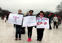 113a.Enroute.WomensMarch.WDC.21January2017 (Elvert Barnes) Tags: 2017 january2017 2017presidentialinauguration 58thpresidentialinauguration2017 21january2017 58thpresidentoftheunitedstatesinauguration2017 womensmarch womensmarch2017 saturday21january2017womensmarch beforethemarch beforethesaturday21january2017womensmarch beforethemarch2017 j21womensmarch2017 streetphotography streetphotography2017 streetphotographybeforej21womensmarch2017 enroutetoj21womensmarch2017rally protestsigns protestsigns2017 protestsignsj21womensmarch2017 washingtondc