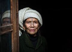 Myanmar - Spider women (mokyphotography) Tags: myanmar spiderwomen spider woman donna donnaragno canon donne mindat tribe tribù tribal travel viso village villaggio tatuaggio tattoos face faces people portrait persone picture portraits ritratto reportage ritratti