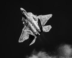 Thurst (Robert Streithorst) Tags: 2018daytonairshow airforce airplane f22 fighter military mono raptor robertstreithorst