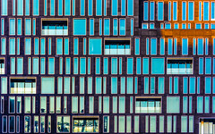 Urban DNA (DobingDesign) Tags: architecture mossessianarchitecture windows glass reflection modernarchitecture london londonarchitecture rows columns dna dnasequence storeys floors lines cladding design abstract pattern repeatingpattern repetitive repeat rhythm geometric sunlight blue rectangles vertical horizontal