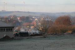 Auf dem Land am frühen Morgen (julia_HalleFotoFan) Tags: thüringen bischofroda wartburgkreis aufdemland morgen