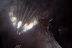 * (Sakulchai Sikitikul) Tags: wedding street snap streetphotography summicron songkhla sony smoke 35mm leica thailand hatyai bride groom