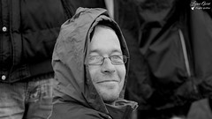 Jean Luc (Laurent Quérité) Tags: canonfrance canoneos7d canonef100400mmf4556lisusm portrait noirblanc blackwhite homme man meetingaérien airshow ba113 robinson saintdizier france