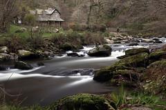 Watersmeet, Lynmouth (Lady Tottington) Tags: devon watersmeet lynmouth eastlyn autumn river rocks woodland walk
