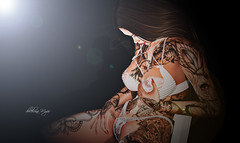 #234 (dolceluna_myoo Photographer) Tags: portrait picture head bento blogger hot shadows sl secondlife lingerie glitzz leven tattoo