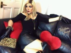 Black Jaguar (jessicajane9) Tags: tg crossdress tgurl feminization tranny crossdressing tv crossdresser trans feminised travesti xdress transgender m2f leather tgirl cd