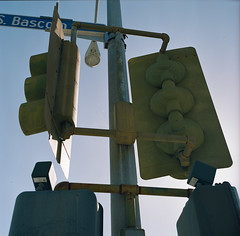Bascom // San Jose // Last in Series (bior) Tags: hasselblad500cm portra160nc expiredfilm mediumformat 120 6x6cm hasselblad sanjose bascom street stoplight