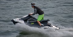 Water Recreation (Scott 97006) Tags: fun sport water river guy man ride spray jetski