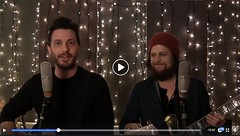 "J.R. Moore and Zack Mack – Recorded Facebook Live ""Merry Christmas"" video #AMMM . You can watch it here: https://www.facebook.com/JRMooreMusic/videos/277811849474708/ (AllenMackMyersMooreNation) Tags: allen mack myers moore ammm"